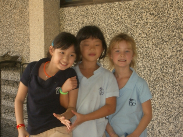 Kirsten, Soy and Joy 3rd Grade